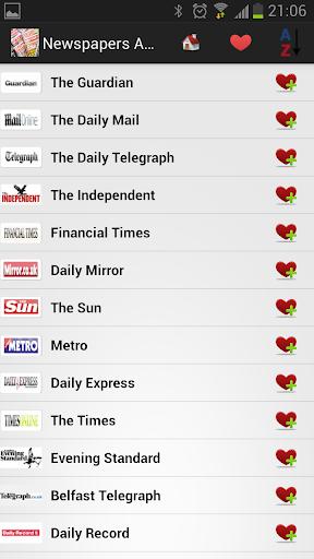 United Kingdom Newspapers