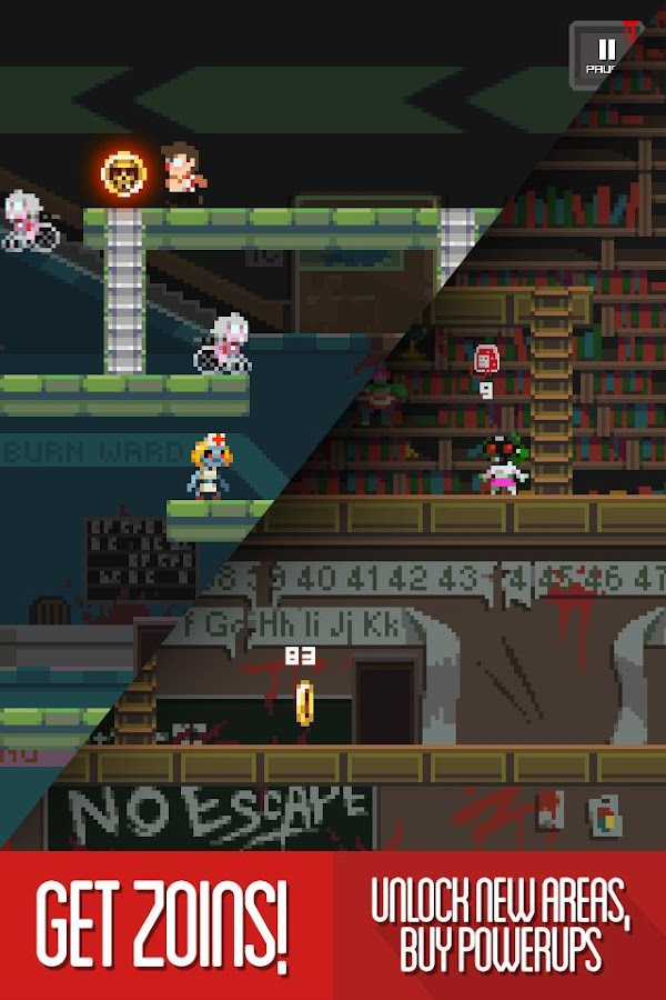 The Tapping Dead - Platformer- screenshot
