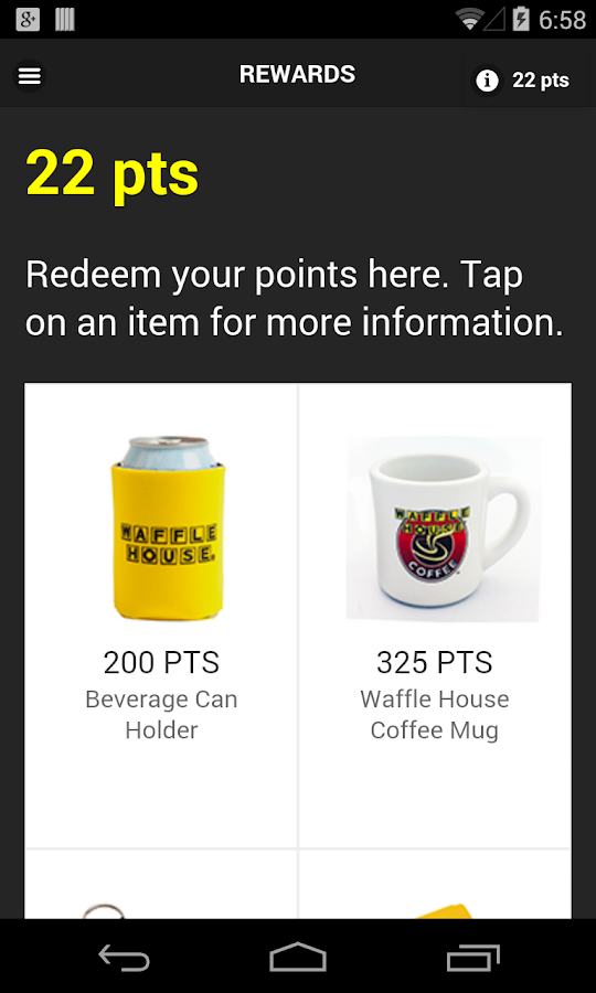 Waffle House Race for Rewards- screenshot