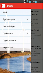 E.ON Hungary's application - náhled
