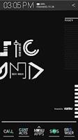Screenshot of Typo Black atom theme