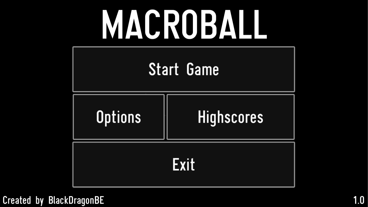 MACROBALL- screenshot