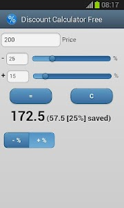 Discount Calculator screenshot 3