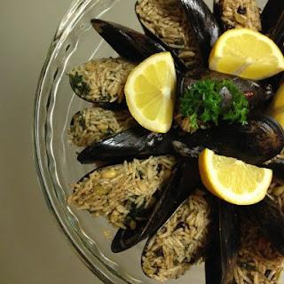 Stuffed Mussel - Mussel Dolmas.