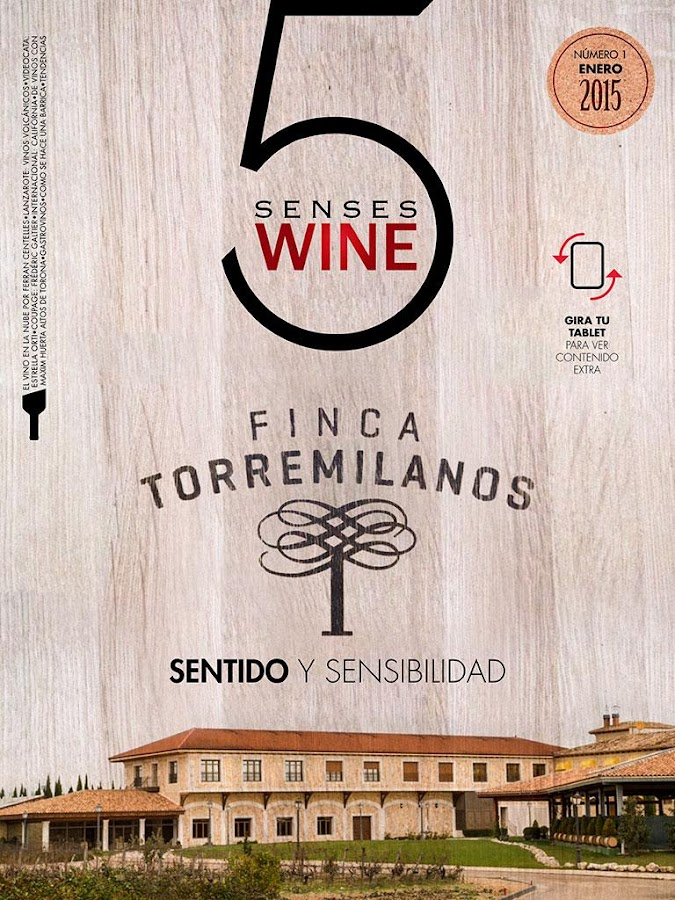 Revista 5 Senses Wine- screenshot