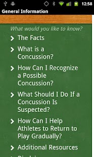 Concussion Recognition & Respo - screenshot thumbnail
