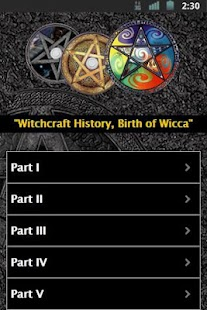 Witchcraft History - screenshot thumbnail