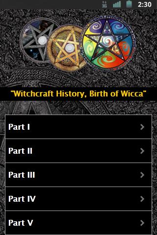 Witchcraft History - screenshot