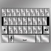 Silver Keyboard Skin