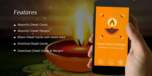 Diwali Cards and Rangoli