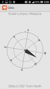 Qibla Direction Using GPS - screenshot thumbnail