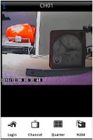 Screenshot of iView DVR