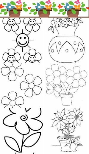 Flowers Painting Coloring game