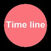 Launcher 8 theme:Time line