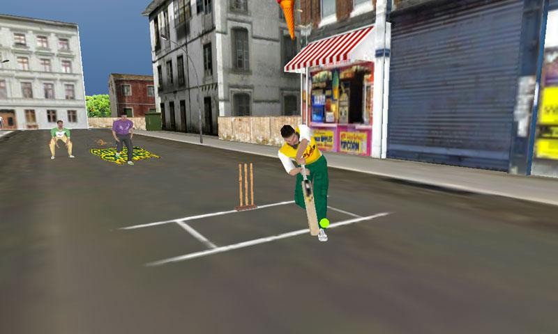Street Cricket - screenshot