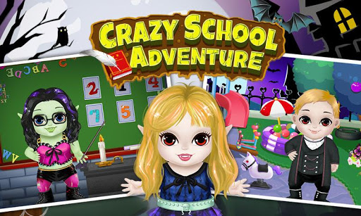 Monster Kids School Adventure