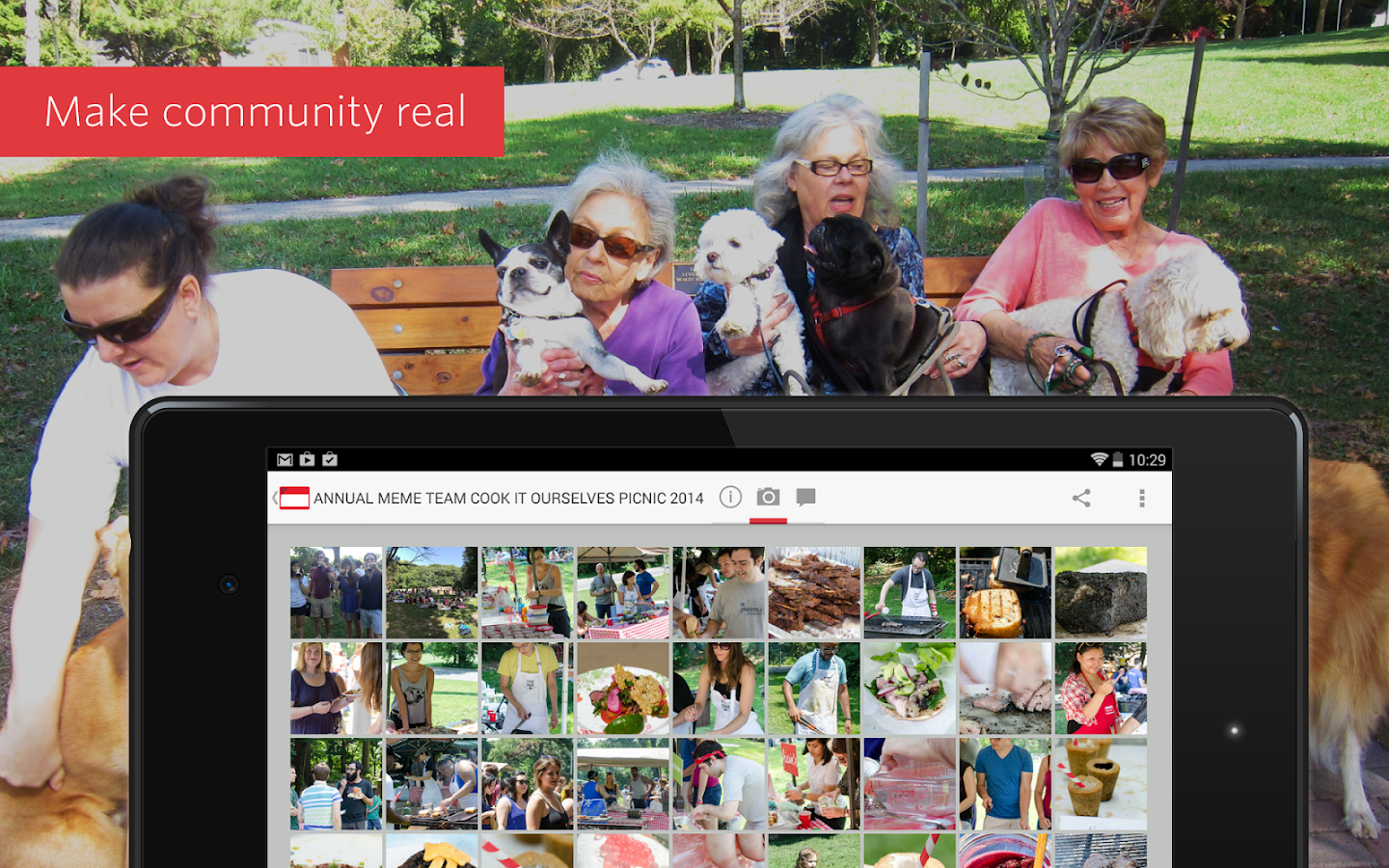 Meetup – Make community real - screenshot