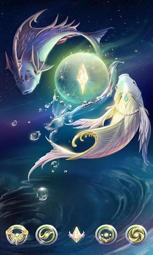 Pisces GO Launcher Theme