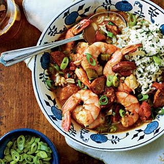 Shrimp-and-Sausage Gumbo.