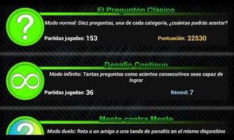 Screenshot of El Preguntón Trivia