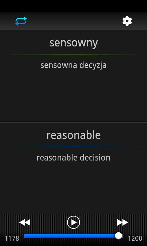 Speeq Polish | English free- screenshot