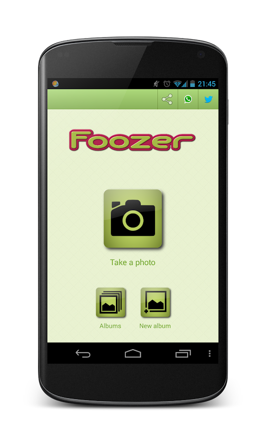 Foozer (Photo Album) - screenshot