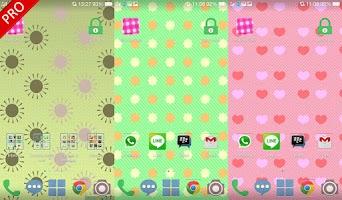 Screenshot of Polka Dots Live Wallpaper