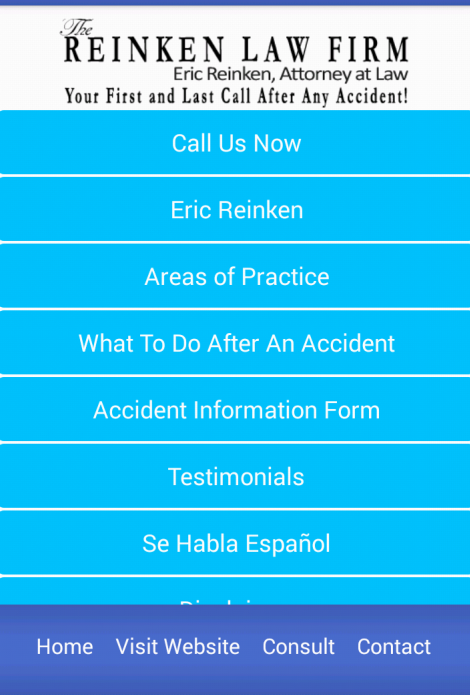 Reinken Law Firm- screenshot
