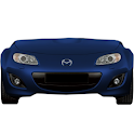 Mazda Miata battery widget logo