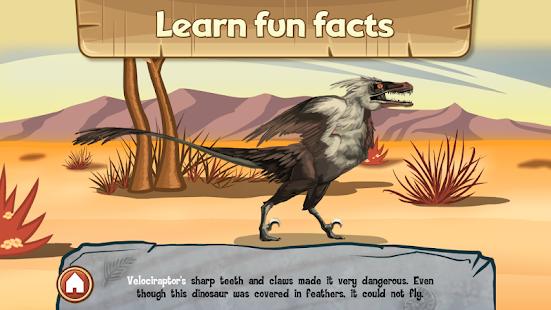 玩免費教育APP|下載Discovery Kids Dinosaur Puzzle app不用錢|硬是要APP