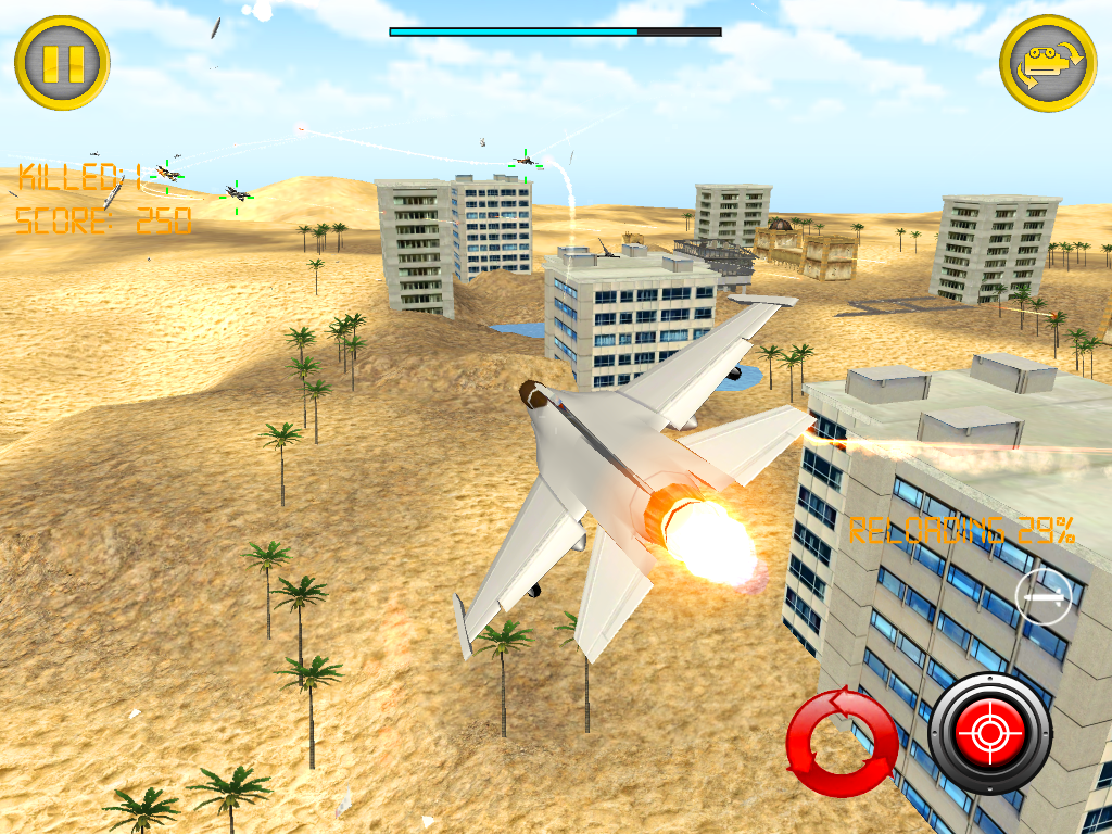 Air Strike Jet Storm Raider 3D - screenshot
