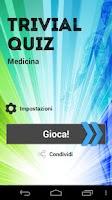 Screenshot of Trivial Quiz - Medicina