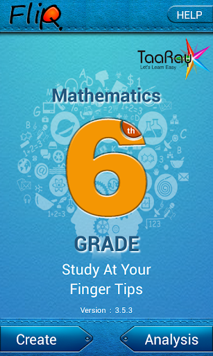 FlipQ Maths Grade 6 Flashcard