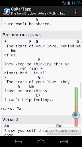 GuitarTapp PRO - Tabs & Chords v2.8.6 APK