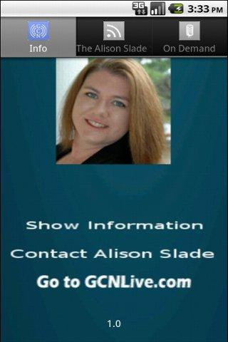 The Alison Slade Show - screenshot