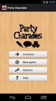 Screenshot of Party Charades