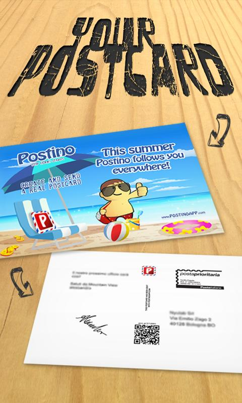 Postino - Postcards- screenshot