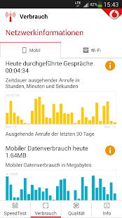 Vodafone SpeedTest - screenshot thumbnail