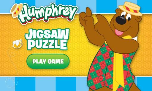 Humphrey B Bear Jigsaw Puzzle