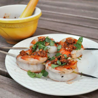 Grilled Colossal Shrimp with Charmoula