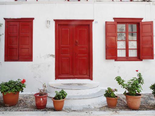 house-Mykonos-Greece - A residence on the island of Mykonos, Greece.