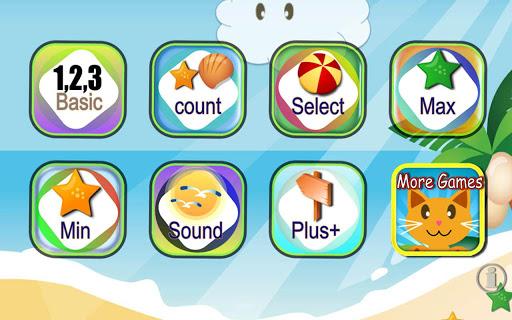 QCat - 幼兒的數字123 數學及算術學習遊戲 免費