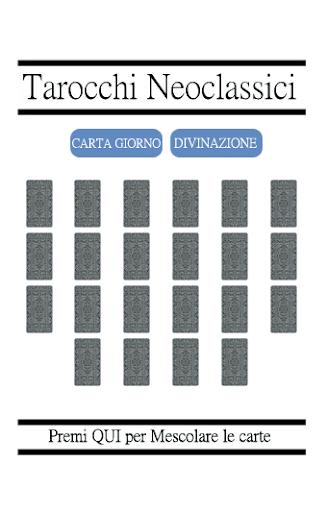 Veri Tarocchi Neoclassici