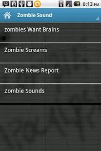Zombie Apocalypse Sounds- screenshot thumbnail