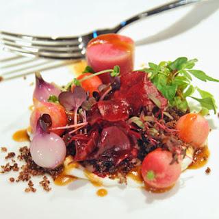 Pickled Beets and Breakfast Radish Salad