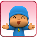 Pocoyo run icon
