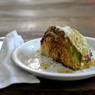 Roasted Cabbage Wedge Salad