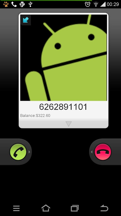 GlobalTalk- free phone calls- screenshot