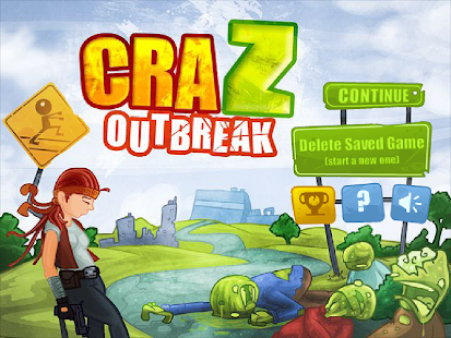 Zombie Defense - CraZ Outbreak - screenshot thumbnail