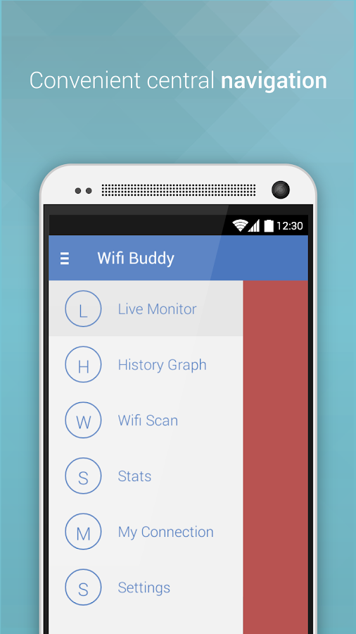 Wifi Buddy: Live Monitor Tool- screenshot